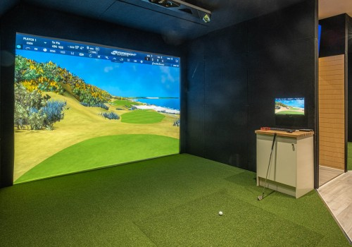 New Indoor Golf Studio